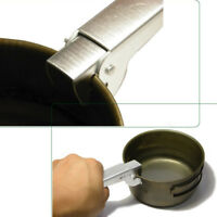 Cookware Pan Bowl Pot Gripper Clip Hand Clamp Handle Grip for Outdoor Camping JW
