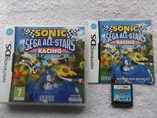 SONIC SEGA ALL STARS RACING NINTENDO DS V.G.C. FAST POST ( racing game )