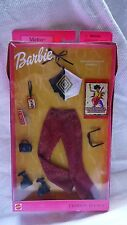 NIB Barbie Fashion Avenue METRO Collection 2002 RED HOT IN RIO Halter Top Red