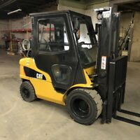 2015 Cat GP25N 5000lbs Used Forklift Pneumatic Tires LP Gas 4952 Hours Sideshift