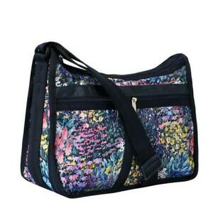 LeSportsac Classic Deluxe Everyday Bag Crossbody in Soho Garden NWT