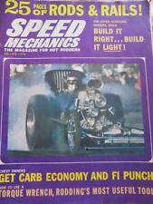 1964 SPEED MECHANICS 25 PAGES OF RODS AND RAILS MAGAZINE FOR HOT RODDERS