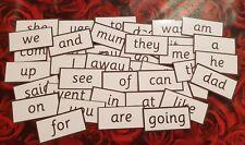 RECEPTION CLASS WORDS -  FLASH CARDS  - HOME/CLASS -READ/WRITE/SPELL-SCHOOL