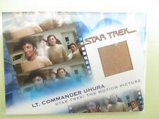 STAR TREK THE MOTION PICTURE LT.COMMANDER UHURA COSTUME MATERIAL CARD MC9 #571