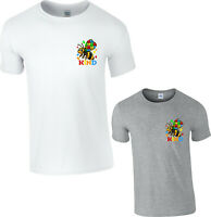 Autism Awareness T-Shirt, Bee-Kind Honey Bee Love Cure Puzzle Gift Unisex Top