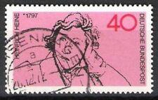 BUND Nr.750 Heinrich Heine 1972, gestempelt