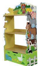 Bücherregal für Jungen und Mädchen