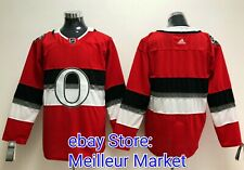 cd4947ae079 New Ottawa Senators Alternate NHL100 Classic Adidas Blank Jersey L 52  Sénateurs