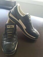 Royal Elastics  Black White Men Slip On Casual Shoes