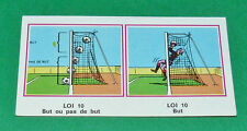 N°401 LES LOIS DU JEU PANINI FOOTBALL 77 1976-1977