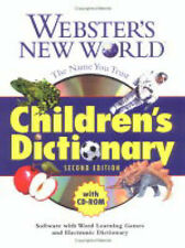 USED (GD) Webster's New World Children's Dictionary with CD-ROM