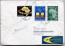 FFC 1961 Lufthansa PRIMO VOLO - Ghana Francoforte