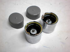 TWO Bearing Protectors Grease Wheel Hub 3500# trailer axle 1.98 with Bras Buddy