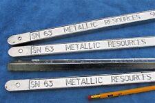 63/37  Hi-purity Bar Solder,   Auto Body lead solder. AutoBody lead.