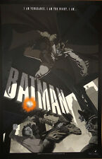 Stan and Vince Batman Variant Print Poster Dark Knight Mondo Artist