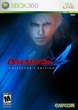 Devil May Cry 4 Collector's Edition W/ Slip Cover no Series disc - 360 Complete