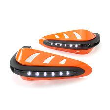 Protectores De Moto Quad Bicicleta Protectores Naranja LED de luces de circulación diurna DRL