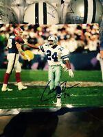 Larry Brown Autographed/Signed Dallas Cowboys 8x10 NFL Photo Proof