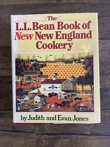 THE LL BEAN BOOK OF NEW ENGLAND COOKERY COOKBOOK RECIPES