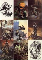 Boris Olivia Artists Choice Complete 72 Fantasy Art Trading Card Set COMIC IMAGES 1997 Art of SORAYAMA ROYO