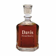 Custom Whiskey Decanter Engraved Personalized Monogrammed for Free