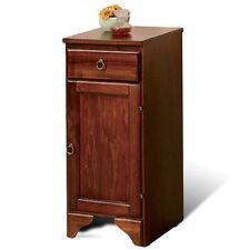 Mobile cassettiera noce 1 cassetto e 1 anta in legno 33 x 34 x 76 h