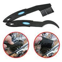 Bicycle Chain Cleaning Brush Scraper Set Tool Bike Cycle Cassette Cog Cleaner