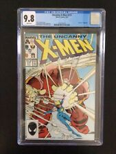 CGC 9.8 Uncanny X-Men 217 White Pages - Free Shipping