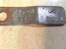 """1974 - 1976 Ford Mustang 8"""" Rear End Or Differential Tag WDY-N  4EC 3.55 Open"""