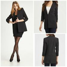 Elizabeth and James black sharp shoulder blazer Jacket 6 $395