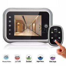 3.5'' LCD Wireless Video Digital Door Monitor Peephole Doorbell IR Camera Viewer