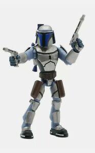 Disney Store Star Wars Toybox Jango Fett Bounty Hunter Action Figure