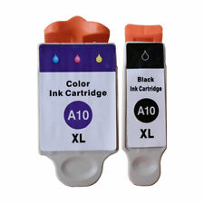 1 Black + 1 Colour Compatible Printer Ink Cartridges for Advent AWP10 [AD10]