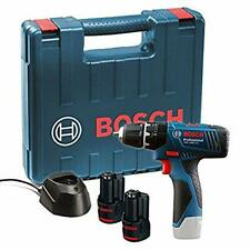 Bosch GSB 120 - LI Professional 12V with 2 x 1.5 Ah Batteries with Charger and