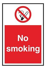 1x NO SMOKING Warning Sticker Decal for Store Shop Home Work Laptop Tablet Car