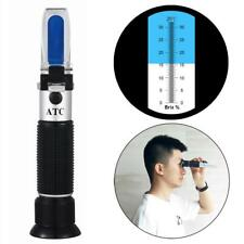 Brix Refractometer Beer Fruit Juice Wine Sugar Homebrew 0~32%