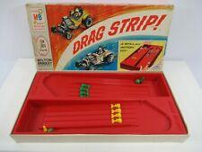 Drag Strip 1965 Milton Bradley Board Game CompleteVTG