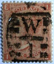 GREAT BRITAIN #43a: 1865 'Queen Victoria' early issue - Plate 12