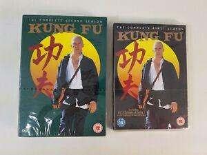 Neuf Kung Fu DVD Saisons 1 & 2 Complet Coffret Série TV David Carradine Region