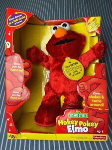 2002 Hokey pokey Elmo Sesame Street Fisher Price Mattel Collectible