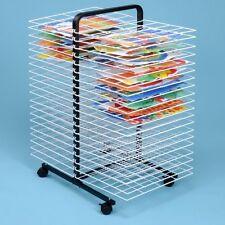 40 Shelf Large Mobile Painting Drying Rack For Schools & Nurseries   (GTR503)*