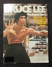 1980 BRUCE LEE The Untold Story Magazine FVF Unique Paperback 80 pgs