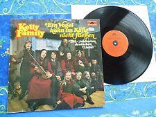 KELLY FAMILY ♫ EIN VOGEL KANN IM KÄFIG NICHT FLIEGEN ♫ RARE TOP RECORDS LP#1A