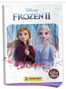 BRAND NEW PANINI Disney FROZEN II MOVIE Empty Sticker Album +6 Un-Stuck Stickers