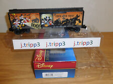 LIONEL 6-83802 DISNEY HAPPY HALLOWEEN USA BOXCAR TRAIN CAR O GAUGE MICKEY MOUSE