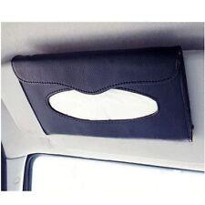 Auto's Accessories Holder Paper Napkin Clip PU Leather Car Sun Visor Tissue P8E1
