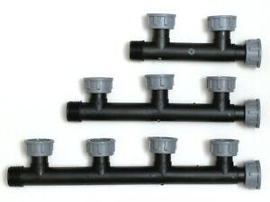 """Tavlit Verbinder 1"""" Multi-T-Verteiler  2, 3, 4-fach 10bar für PGV-101-MM"""