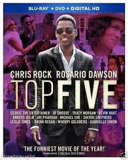 Top Five :New (Blu-Ray+DVD+Digital HD) Chris Rock, Rosario Dawson Comedy Movie