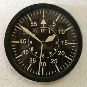 Wall Clock LACO Luftwaffe B Uhr FL23883 Watch Military