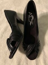A2 Aerosoles Heelrest Black Heels Size 7